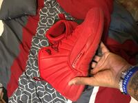 Red suede 12s size 13 Markham, L3S