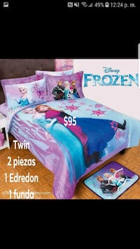 Disney Frozen Elsa and Anna print bed sheet set Alexandria, 22305