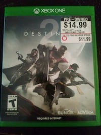 Destiny 2 Xbox One game case Clearfield, 84015