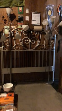 Sold lamps , full size bed frame still available for $75 Baltimore, 21230
