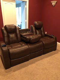 3 seat ,power reclining home theater sofa. 10 months old McKinney, 75070