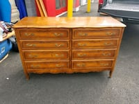 French Provencial all wood dresser, chest 8 drawer South Riding, 20152
