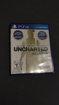 Uncharted The Nathan Drake Collection PS4 game case Grande Prairie, T8V