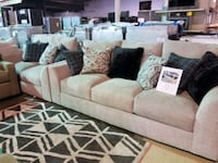 Couch and love seat set with pillows  Pineville, 28134