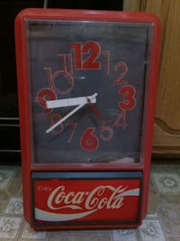 Old Coca cola clock Midwest City