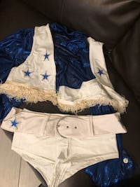 Dallas cowboy cheer costume  Killeen, 76549