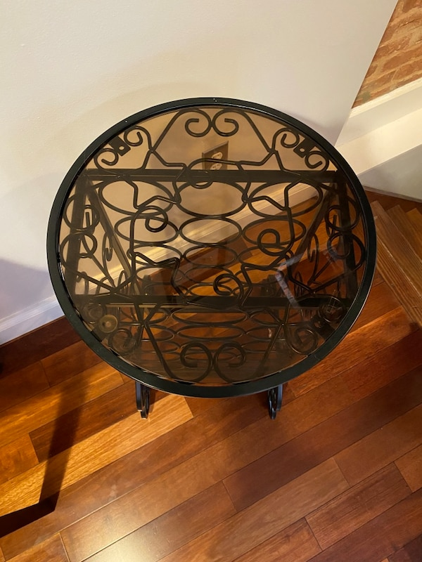 Wine rack table 2