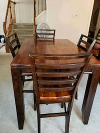 brown wooden dining table set with sideboard Odenton, 21113