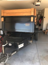 black and gray metal tool cabinet Avondale, 85392