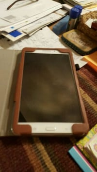 At&t 7 inch notebook with brown leather case 367 mi