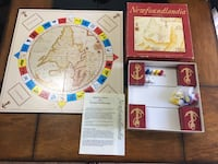 1986 Rare Newfoundlandia Game Board Complete! Fort McMurray, T9J 1G6