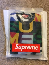 Supreme Big Letter Crewneck Coogi Inspired DS MEDIUM FW18 Fairfax, 22030