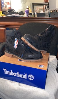 Dead stock never worn eastern conference size 12 timberland boots Selden, 11784