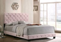 Black friday special!!!Brand new pink Queen bed with mattress