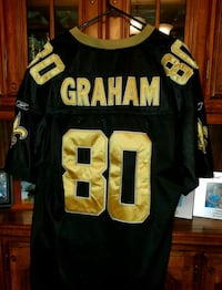 gold and black Graham 80 jersey
