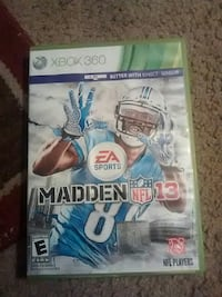 Madden NFL 13 Xbox 360 game