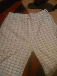 white and gray plaid shorts Kingman, 86401