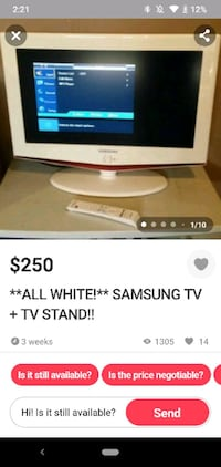 WARNING TV SCAM
