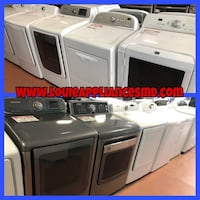Variety of top load washer and dryer set 90 days warranty Reisterstown, 21136