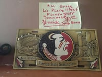 Florida state all brass license plate Albuquerque, 87114