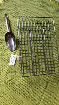 gray metal scoop and gray metal rack Guildford, GU4 7RE