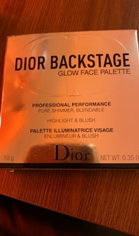 Dior backstage glow face palette 002 Glity