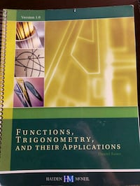 """Functions, Trigonometry, and Their Applications""  Eugene, 97401"