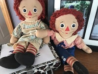 Raggedy Ann and Andy Highland, 12528