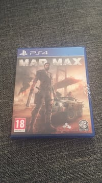 Sony ps4 Mad Max 6555 km
