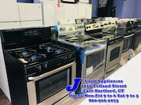 Black or Stainless Steel Stove Starting On One Low Price East Hartford, CT, USA