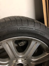 Tires with rims (different models) Laval, H7E
