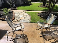 Set of chairs outdoor Houston, 77095