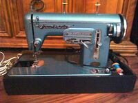 Antique Sewbest ZigZag sewing machine Olympia, 98501