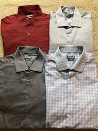 $4 Each - Kenneth Cole Slim Fit Dress Shirts Size 17 sleeve 34 Winnipeg, R2V 3P3