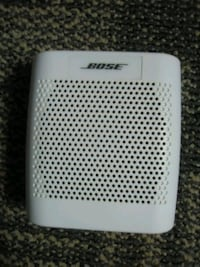 white and black Bose portable speaker Alexandria, 22305