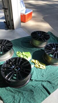 BMW rims style 403ms powder coated  Marvin