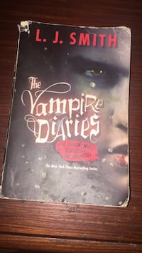 The vampire dairies book Toronto, M4X 1M3