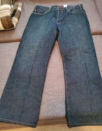 Men's New Boot-Cut Eddie Bauer Denim Jeans - W36 x