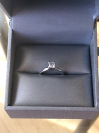 Half carat 14k white gold. Like new engagement ring Ashburn, 20148