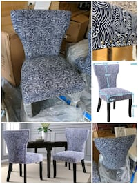 Accent chairs.Brand new and fine quality material  Markham, L6B 1B5