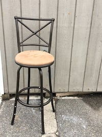 "Swivel X-Back Hammered Barstool Bronze 29"" Rahway, 07065"