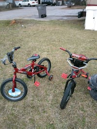 toddler's red and black bicycle Greenville, 29611