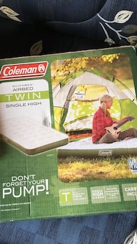 Coleman Airbed Twin size box Cliffside Park, 07010