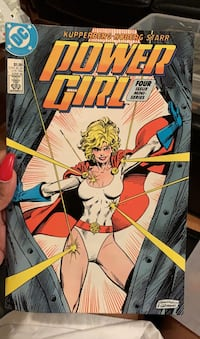 Power Girl comic book