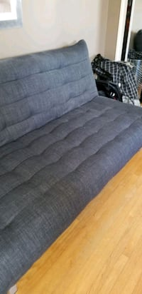 Sofa-bed klic klac design from Structube, charcoal grey
