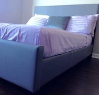 New Gray Queen Bed  Silver Spring