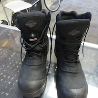 MENS WORKERS BOOTS WORKLOAD SIZE 9 STEEL TOE Calgary