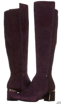 New sz 7 Suede knee high boots Toronto, M2N 7C3