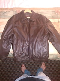 Danier leather jacket brown