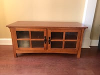 Brown wooden cabinet with shelf Florence, 35633